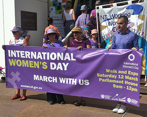The Territory celebrates International Women's Day's 2018