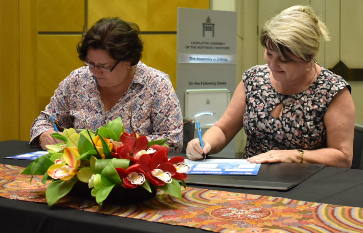 Signing of foster carer charter