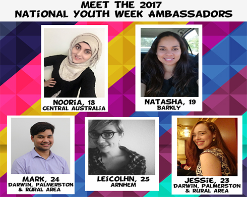 National Youth Week 2017 Ambassadors announced