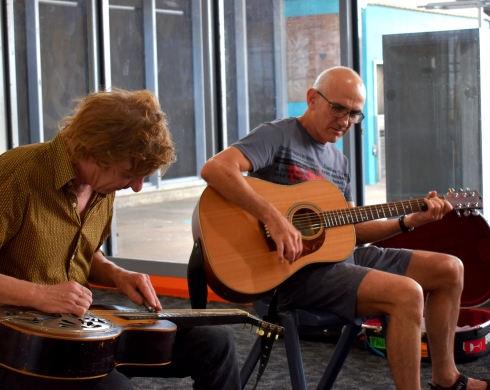 Australian music icon Paul Kelly visits Don Dale