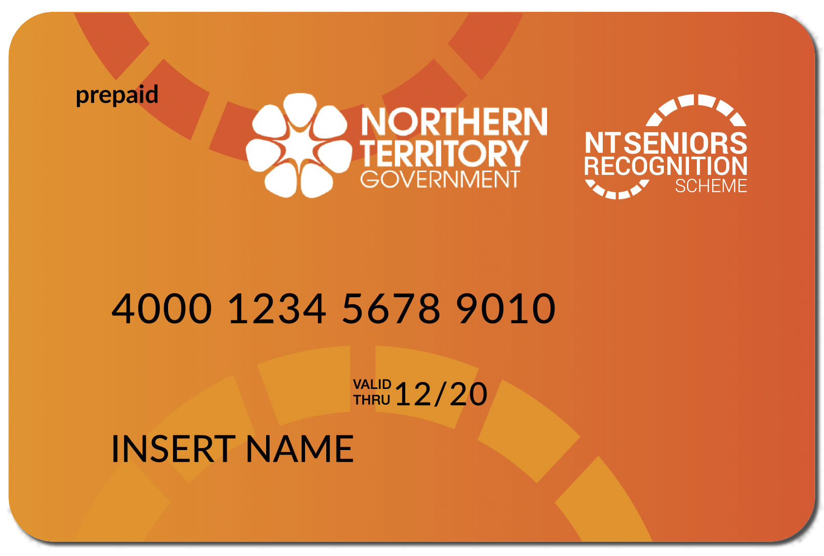 Prepaid Card for NT Seniors Recognition Scheme
