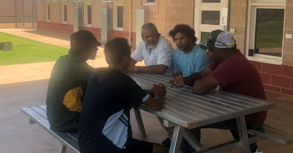 Aboriginal Elders & Mentors Program Launch in Youth Detention Centres